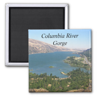 Columbia River Gorge Photo Magnet