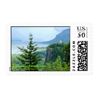 Columbia River Gorge - Postage