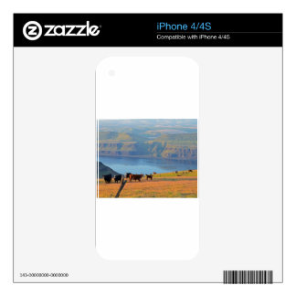 Columbia River Gorge Skin For iPhone 4S