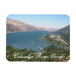 Columbia River Gorge Travel Photo Magnet
