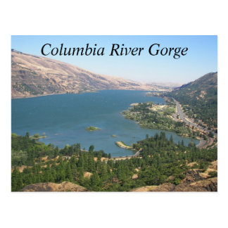 Columbia River Gorge Travel Photo Postcard