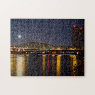 Columbia River I 5 Bridge Jigsaw Puzzles