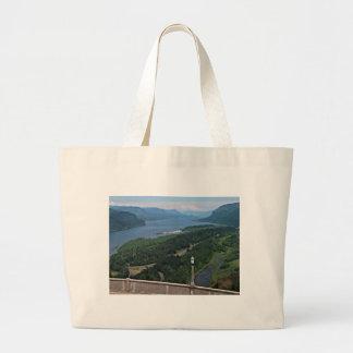 Columbia River Jumbo Tote Bag