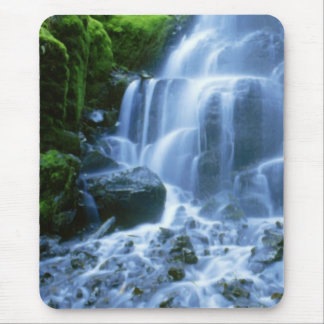 Columbia River Waterfall Fine Photo Mouse Pad