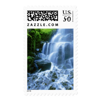 Columbia River Waterfall Fine Photo Postage