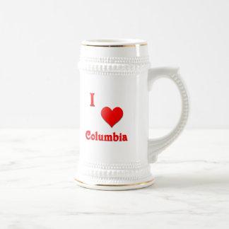 Columbia -- Rojo Jarra De Cerveza