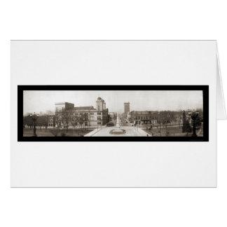 Columbia SC Street Photo 1909 Cards