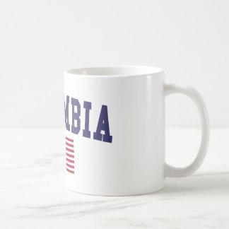 Columbia SC US Flag Coffee Mug