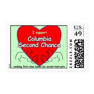 Columbia Second Chance Stamp