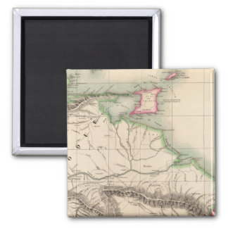 Columbia, South America 3 2 Inch Square Magnet