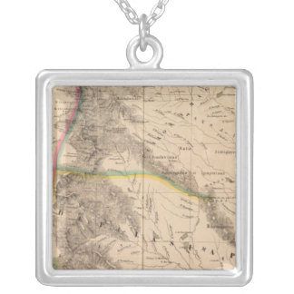 Columbia, South America 8 Silver Plated Necklace