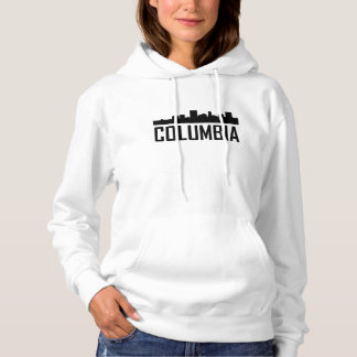 Columbia South Carolina City Skyline Hoodie