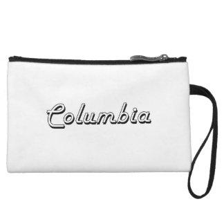 Columbia South Carolina Classic Retro Design Wristlet Clutch