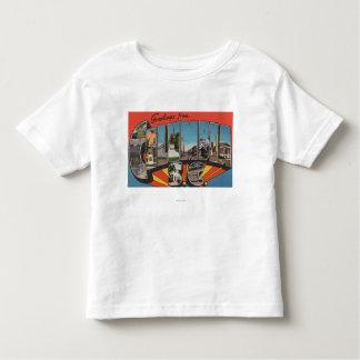 Columbia, South Carolina - Large Letter Scenes 2 T-shirts