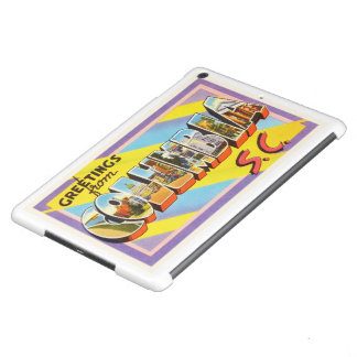 Columbia South Carolina SC Vintage Travel Postcard iPad Air Cover