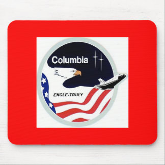 columbia space shuttle mouse pad
