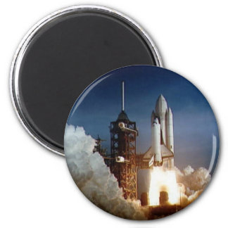 Columbia STS-1 Mission 2 Inch Round Magnet
