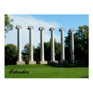 Columbia Tarjeta Postal