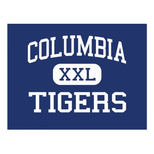 Columbia Tigers Middle Berkeley Heights Postcard