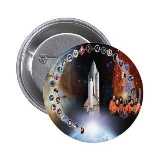 Columbia Tribute - OV 102 Pinback Button