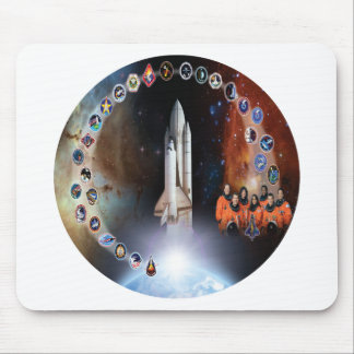 Columbia Tribute - OV 102 Mouse Pads