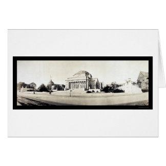 Columbia University Library Photo 1902 Card