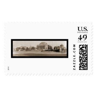 Columbia University NY Photo 1909 Postage Stamp