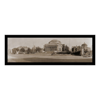 Columbia University NY Photo 1909 Poster