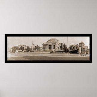 Columbia University NY Photo 1909 Poster