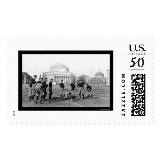 Columbia University Varsity Football Team 1916 Postage