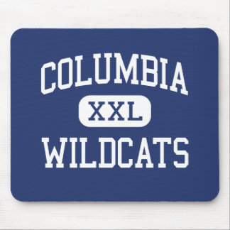 Columbia - Wildcats - High - Columbia Mississippi Mouse Pad
