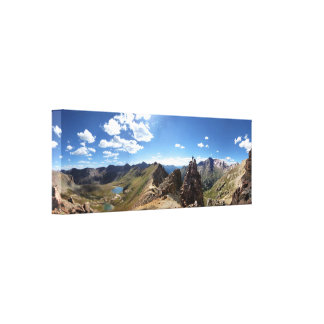 Columbine and Chicago Basin - Weminuche Wilderness Canvas Print