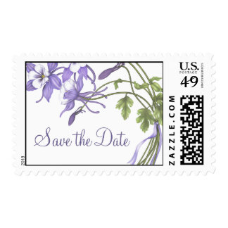 Columbine Bouquet Postage ~ Save the Date