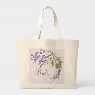Columbine Bouquet Tote Bag Bags
