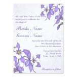Columbine Bouquet Wedding Invitations