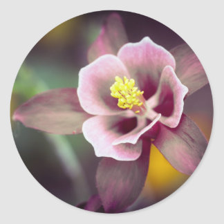 Columbine Classic Round Sticker