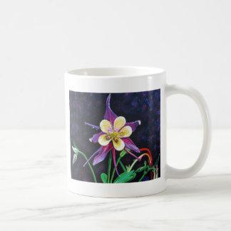 Columbine Classic White Coffee Mug