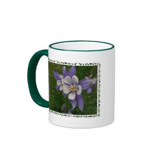Columbine Coffee Mugs