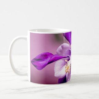 Columbine Cup Classic White Coffee Mug