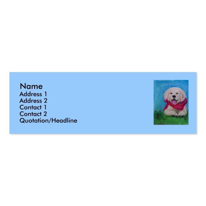 Columbine Fantasy Mini Business Card