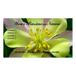 Columbine Floral Business Card
