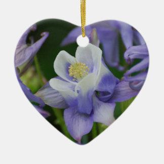 Columbine Flowers Ornaments