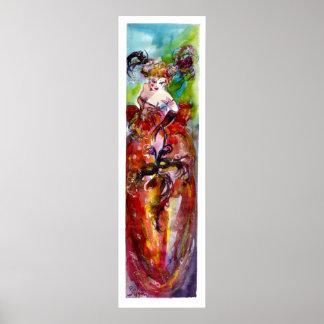 COLUMBINE / Venetian Masquerade Ball Poster