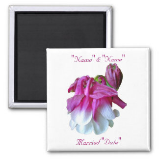 Columbine Wedding Magnet to Personalize