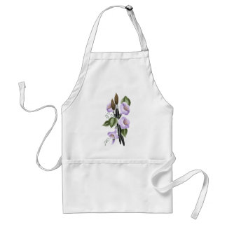 Columbines and Paintbrushes Apron
