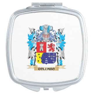Columbo Coat of Arms - Family Crest Travel Mirrors