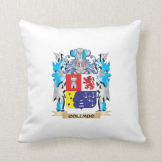 Columbo Coat of Arms - Family Crest Pillows
