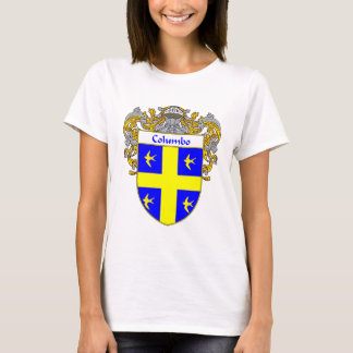 Columbo Coat of Arms (Mantled) T-Shirt