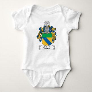 Columbo Family Crest T Shirt
