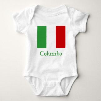 Columbo Italian Flag Baby Bodysuit